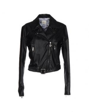 Куртка MAISON ESPIN. Цвет: черный