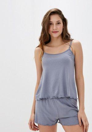 Пижама Arloni. Цвет: серый