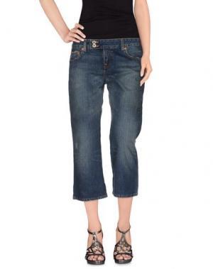 Джинсовые брюки-капри POLO JEANS COMPANY. Цвет: синий
