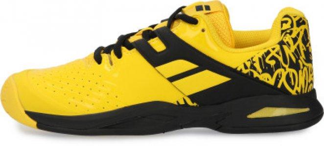 Кроссовки для мальчиков Propulse All Court Junior, размер 36 Babolat. Цвет: желтый
