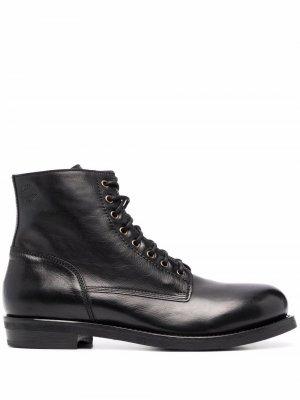 Ankle leather boots Buttero. Цвет: черный