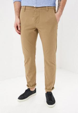 Чиносы Dockers 360 ALPHA CHINO NEW TAPERED. Цвет: бежевый