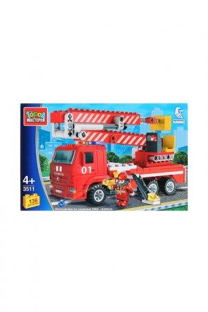 Пожарная Машина с люлькой Город мастеров. Цвет: красный