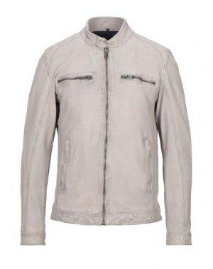 Куртка FREAKY NATION. Цвет: светло-серый