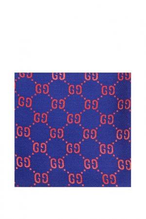 Платок Gucci. Цвет: синий