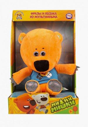 Игрушка мягкая Мульти-Пульти музыкальная, Медвежонок Кеша, h 25 см. Цвет: коричневый