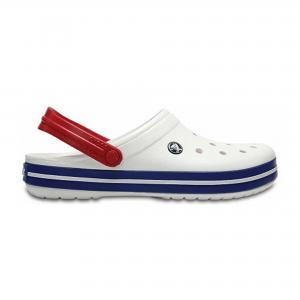 Сабо Crocband Crocs. Цвет: синий, розовый