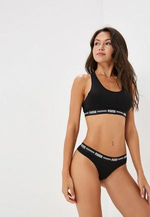 Комплект PUMA ICONIC STRING 2P PACKED. Цвет: черный