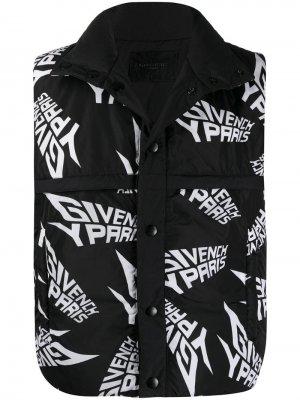 Жилет с логотипом Givenchy