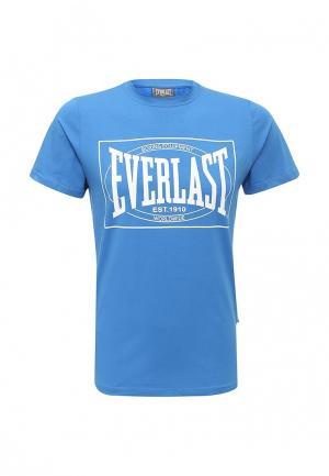 Футболка Everlast Choice of Champions. Цвет: голубой
