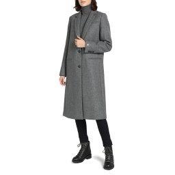 Пальто WW0WW25739 серый TOMMY HILFIGER