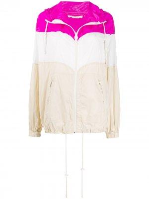 Куртка в стиле колор-блок Isabel Marant Étoile. Цвет: розовый