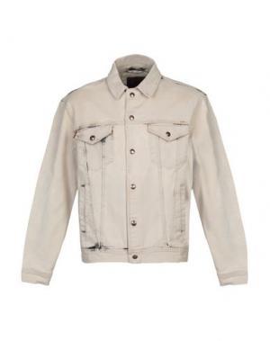 Джинсовая рубашка IUTER. Цвет: серый