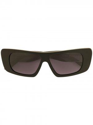 Солнцезащитные очки Obsidian Karen Walker. Цвет: черный