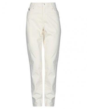Повседневные брюки FUEGO WOMAN. Цвет: слоновая кость