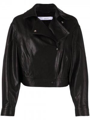Укороченная куртка IRO. Цвет: черный