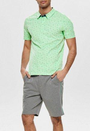Рубашка Only & Sons. Цвет: зеленый