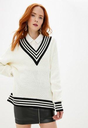 Пуловер Ivyrevel. Цвет: белый