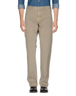 Повседневные брюки BOSS HUGO. Цвет: серый