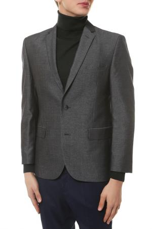 Пиджак mishelin. Цвет: темно-серый