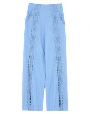 Повседневные брюки CHARO RUIZ IBIZA. Цвет: небесно-голубой