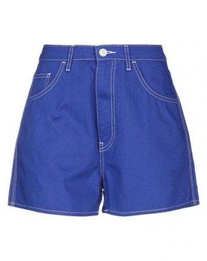 Повседневные шорты HAIKURE. Цвет: синий