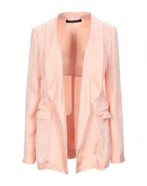 Пиджак FRANCESCA PICCINI. Цвет: лососево-розовый