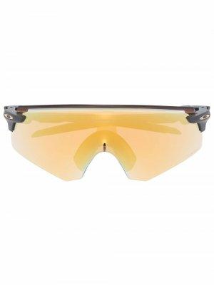 Солнцезащитные очки-маска Encoder Oakley. Цвет: желтый