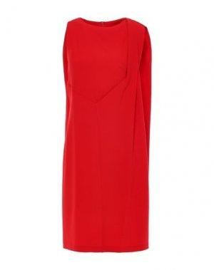 Короткое платье CHALAYAN. Цвет: красный