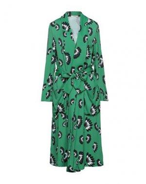 Легкое пальто ODEEH. Цвет: зеленый
