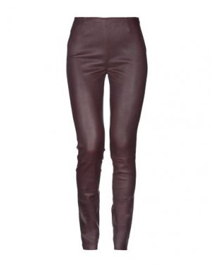 Повседневные брюки ENES. Цвет: баклажанный