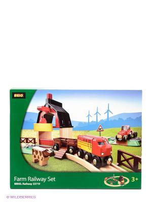 Железная дорога BRIO. Цвет: зеленый