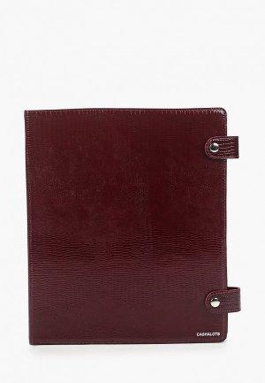 Обложка для документов Cashalots Ring Folder, формат А4. Цвет: бордовый