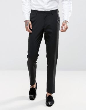 Черные брюки скинни ASOS DESIGN