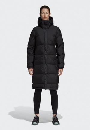 Куртка утепленная adidas W HELIONIC PARK. Цвет: черный