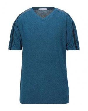 Футболка HAMAKI-HO. Цвет: синий