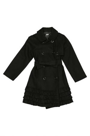 Пальто Kate Mack. Цвет: черный