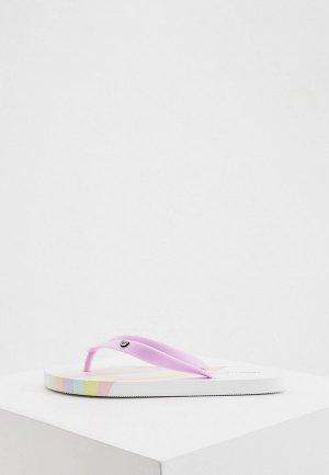 Сланцы Chiara Ferragni Collection. Цвет: фиолетовый