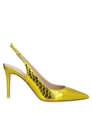 Туфли DEIMILLE. Цвет: золотистый