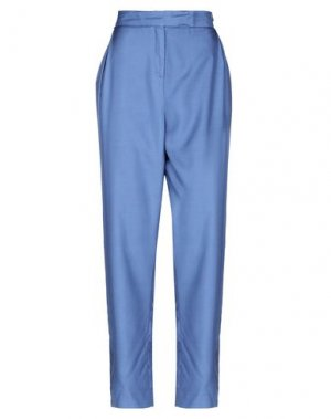 Повседневные брюки ANDREA TURCHI. Цвет: грифельно-синий