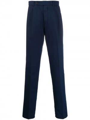 Классические брюки чинос Brunello Cucinelli. Цвет: синий