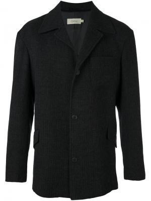 Удлиненный пиджак Romeo Gigli Vintage. Цвет: синий