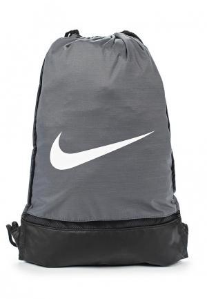 Мешок Nike Brasilia. Цвет: серый