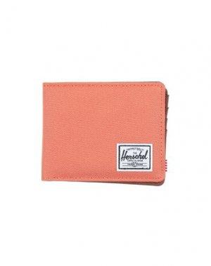 Бумажник HERSCHEL SUPPLY CO.. Цвет: лососево-розовый