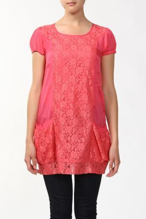 Туника Batik. Цвет: бордовый
