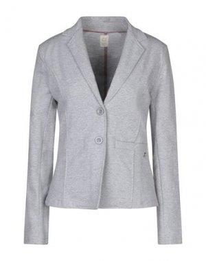 Пиджак GAUDÌ. Цвет: светло-серый