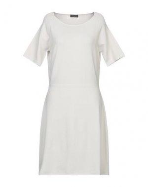 Платье до колена ANNECLAIRE. Цвет: светло-серый