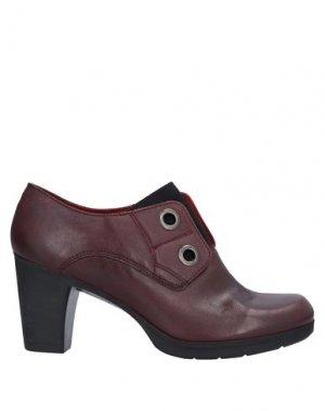 Ботинки KHRIO'. Цвет: красно-коричневый