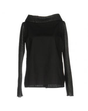 Блузка BIONEUMA NATURAL FASHION. Цвет: черный