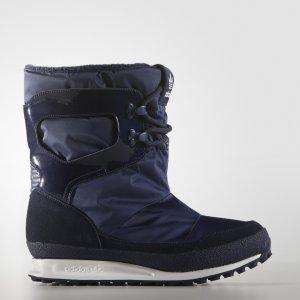 Сапоги Snowrush Originals adidas. Цвет: белый